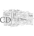 cd rom business cards vector image vector image