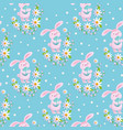 easter spring seamless pattern vector image vector image