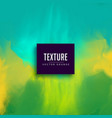 green and blue abstract watercolor texture vector image vector image