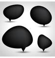Modern Speech Bubble Set vector image vector image