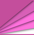 pink paper overlapping abstract background vector image vector image
