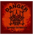 Poster Zombie Outbreak vector image