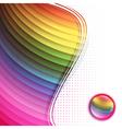 rainbow multicolored frame vector image