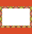 rectangle borders and frames border pattern vector image