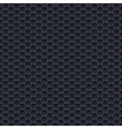 seamless pattern small hexagons vector image