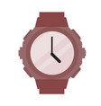 sporty modern wristwatch vector image vector image