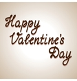 Valentines day card concept vector image vector image