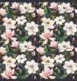 beautiful seamless pattern with hand drawn vector image vector image