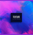 blue and pink watercolor texture background vector image vector image