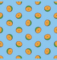 citrus pattern vector image