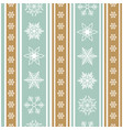 color christmas background with pattern of vector image vector image