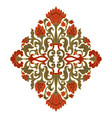 floral colorful ornament vector image
