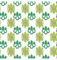 floral ornamental vector image vector image