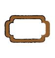 frame emblem decoration vector image vector image