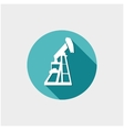Oil Industry button vector image vector image