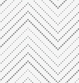 Perforated paper with vertical zigzag textured vector image vector image