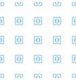 plug socket icon pattern seamless white background vector image vector image