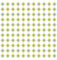 abstract connecting hexagonal pattern in green vector image vector image