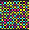 checkered pattern seamless vector image vector image