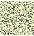 Curly seamless pattern vector image vector image