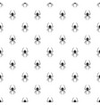 death spider pattern seamless vector image
