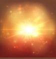 golden explostion abstract background vector image vector image