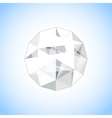 Realistic diamond jewel shaped Gem vector image vector image