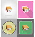school education flat icons 12 vector image vector image