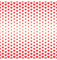 seamless valentine pattern with big vector image vector image