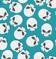 skull Seamless pattern vector image vector image