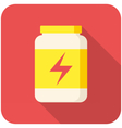 Sport Nutrition icon vector image vector image