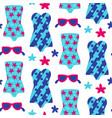 summer beach seamless pattern vector image vector image