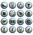 Basketball simply icons vector image