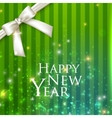 Holiday background with a white bow happy new year