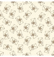 Seamless Pattern with Envelopes vector image vector image