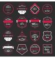Set of Vintage Car Badges and Sign