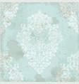 vintage baroque pattern textured ornament vector image vector image