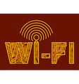 wireless symbol vector image vector image