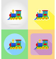 baby flat icons 15 vector image vector image