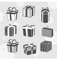 beautiful gifts vector image vector image