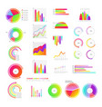 business graphic templates set - collection of vector image