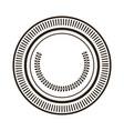 cartoon money coin currency cash icon vector image vector image