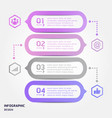 creative infographics elements eps10business ideas vector image vector image