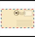 mailing envelope vector image vector image