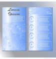 original template for beauty and Spa booklet vector image vector image