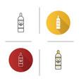 pet shampoo icon vector image vector image