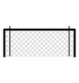 soccer net icon vector image vector image