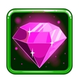 The application icon with gems 2 vector image vector image