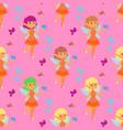 fairies princess fairy girl character cute vector image vector image