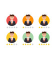 feedback user customer reviews concept vector image vector image